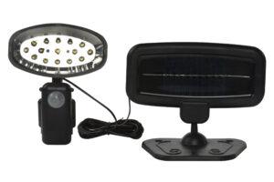Valgusti solar Grundig 15 LED tulega, liikumisanduriga