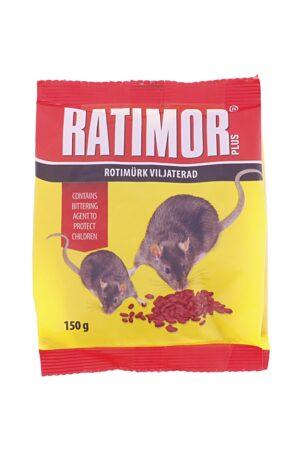 Hiire- ja rotimürk Ratimor viljaterad 150g