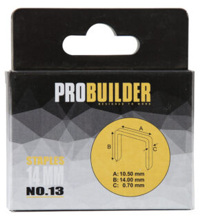 Klambrid Probuilder 14mm 1000tk (art 81661-le)