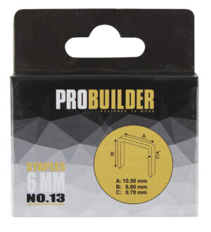 Klambrid Probuilder 6mm 1000tk (art 81661-le)
