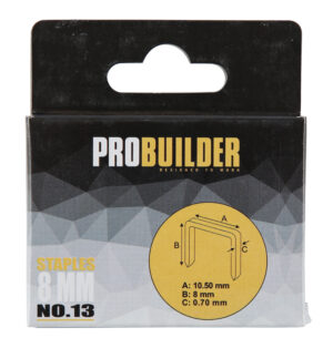 Klambrid Probuilder 8mm 1000tk (art 81661-le)