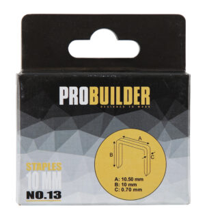 Klambrid Probuilder 10mm 1000tk (art 81661-le)