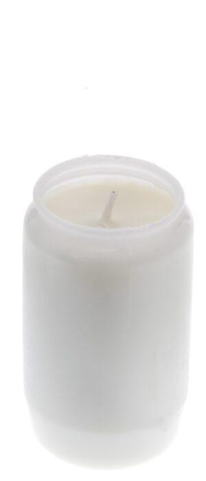 Õliküünal 48-55h valge 24tk
