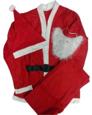 Jõuluvana kostüüm 5 osaline