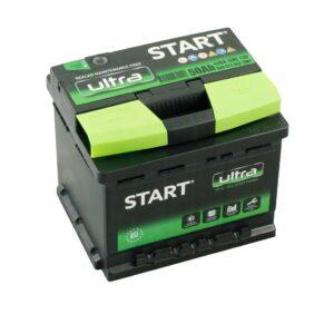 Aku Start Ultra 50Ah 420A 207x175x175mm -+