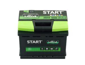 Aku Start Ultra 65Ah 580A 242x175x190mm -+
