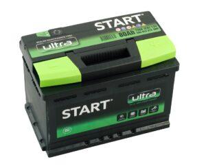 Aku Start Ultra 80Ah 720A 278x175x190mm -+