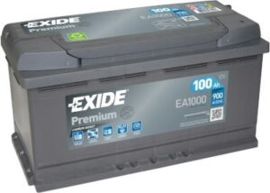 Aku Exide Premium 100Ah 900A 353x175x190mm -+