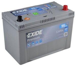 Aku Exide Premium 95Ah 800A 306x173x222mm -+