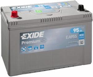 Aku Exide Premium 95Ah 800A 306x173x222mm +-