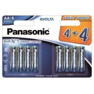 Patarei Panasonic Evolta LR6/AA 4+4tk
