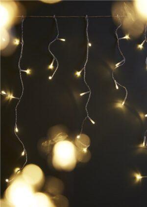 Valguskardin 240 LED soe valge