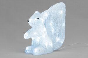 Akrüülkuju Finnlumor orav 40 LED