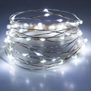 Valgusjuhe Finnlumor 50 LED külm valge